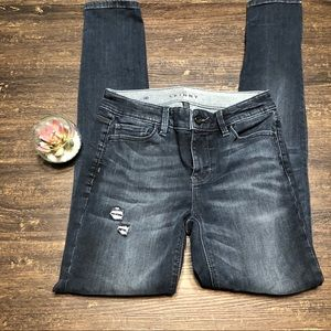 White House Black Market The Slim cut denim jeans